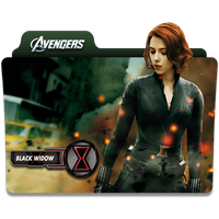 Black widow Avengers by jithinjohny