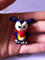 Impmon Charm by Kalixes