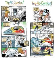 Top 40 Comics - Trouble by BrendaHickey