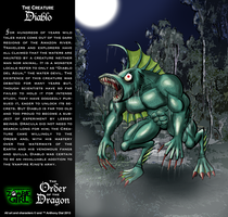 Order of the Dragon 05-The Creature: Diablo by Gummibearboy