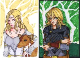 Ylavien and Ryvaine - LOTRO by nyvaine