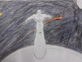 Request: The Silver Surfer (WIP begin color) by dhbraley