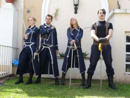 Amestris Army by Wallyconequis