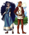 RPG Characters 3 - Stellonian Elves by Rocktopus64