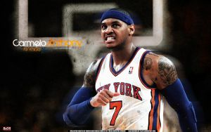 Carmelo Anthony by pllay1