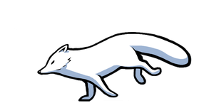 Arctic fox by Chozobudgie