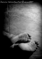 Soles Out of the Darkness by SelfshotYourFeet