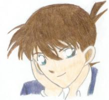 Shinichi Kudo by KeHAEa