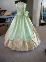 Princess and the Frog dress by AllenGale