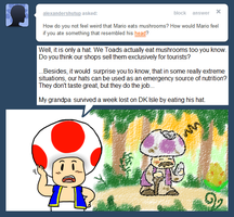 Ask Toad - Weird? by pocket-arsenal