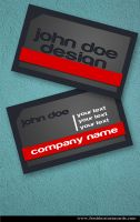 New Modern Business Card by Freshbusinesscards