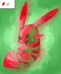 Pikachu Color Experiment: 4 by Undeniable-beliefs