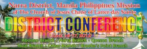 Narra District Conference Banner by michaeltuan97