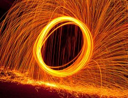 Wire Wool 2 by Siphotografx