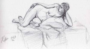 Life Drawing 2 by riftmaker