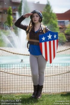 I am the Captain now by SamanthaLynnCosplay