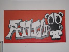 Graffiti Canvas by shimon-graffiti