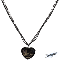 Lace Heart Necklace Stock png by Breezyxox