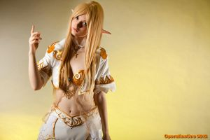 Lineage II throne elf (2) by Seranaide