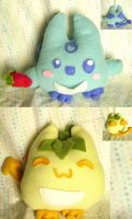 New Pepper Puff Plushies by fuish