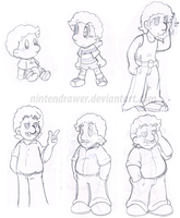 Marco age doodles by Nintendrawer