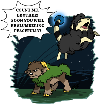 Counting Mareep - Tumblr Ask by Tigryph