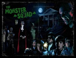 The Monster Squad poster by smalltownhero