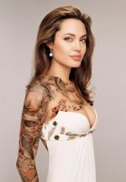 Angelina Tattooed by BonnySaintANdrew