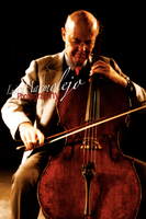 Playing Cello by CryofDevil