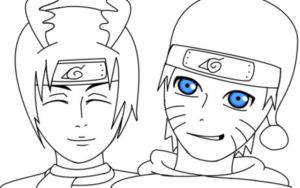 Sai and Naruto HAPPY HOLLIDAYS! by OwlsomeArts