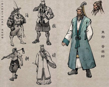 Old Chinese Master by Concept-Art-House