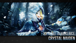 Crystal Maiden Wallpaper by ImKB