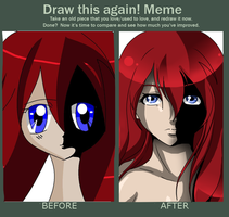 Draw This again! Meme by carma12100