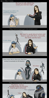 Pep Talk with Shepard: Turian lovin by ExtremePenguin