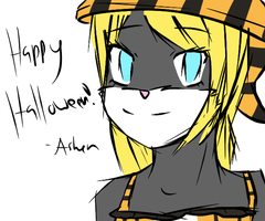 Happy Halloween! by teaunicorn