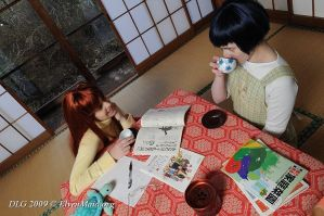 Love Hina: studies by Dolly-chan