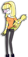Regular Show Staci different clothes 2 by rickee16
