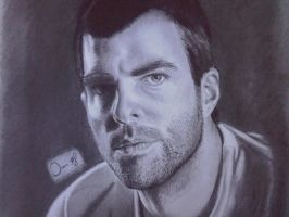 Zachary Quinto by ianwilgaus