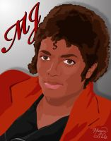 Remembering MJ by lilpurpleperson
