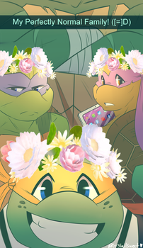 Snap Chat Turtles by Shellsweet