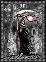 Tarot Death by Doberlady