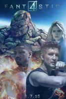 Fantastic Four (2015) movie poster by DComp