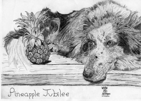 Pineapple Jubilee by TBATAWAMOATANIP