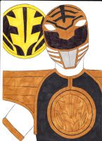 Mighty Morphin' Power Rangers 07 White Ver. 1 by SeptimusParker