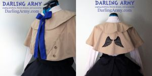 Castiel Supernatural Cosplay Coat Capelet by DarlingArmy
