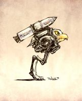 Robo Eagle Missile by pixelegion