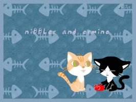 WP: Our Cats by DinDeen