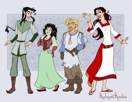 Fescu Darnda Lars and Loknich by GingerOpal