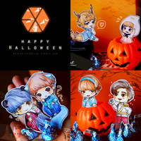 Happy Exo-loween by Jean-chan