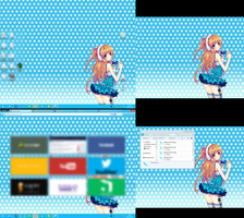 Summer has come! 12 -- Windows7 Desktop by SoNiC4000